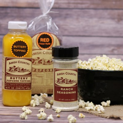 Popcorn & Toppings