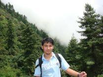 Gosaikunda-in the way 3500 meter from sea level