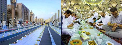 How Muslims break their fast in Ramadan