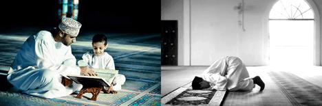 Muslims fast ramadan