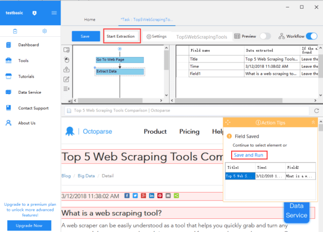Easy Way to Scrape Data from Website