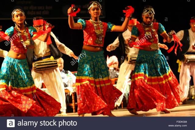 Jitiya festival dance