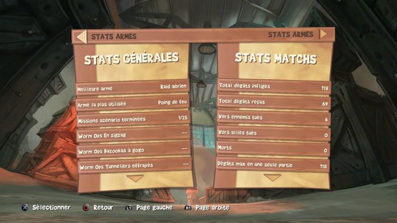 Test - Worms Battlegrounds - navigation et gameplay