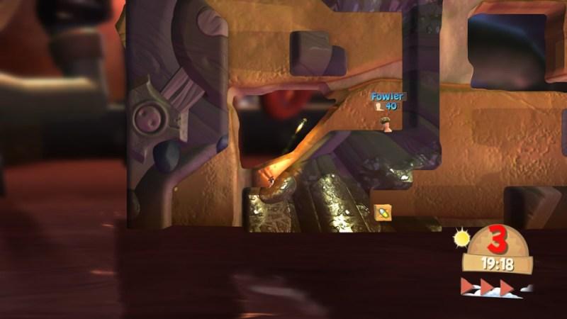Test - Worms Battlegrounds - principe de jeu