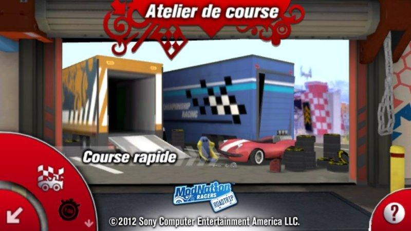 Test - Modnation Racers Road Trip - navigation et gameplay