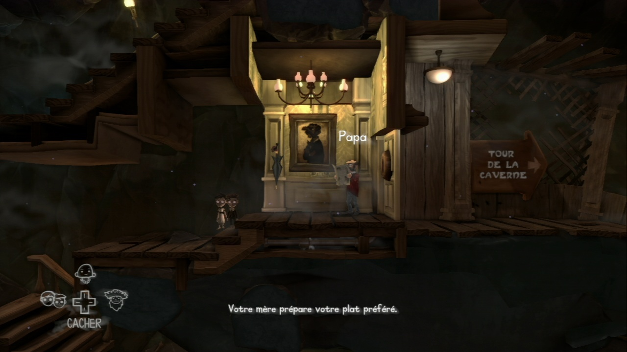 Test - The Cave - navigation et gameplay