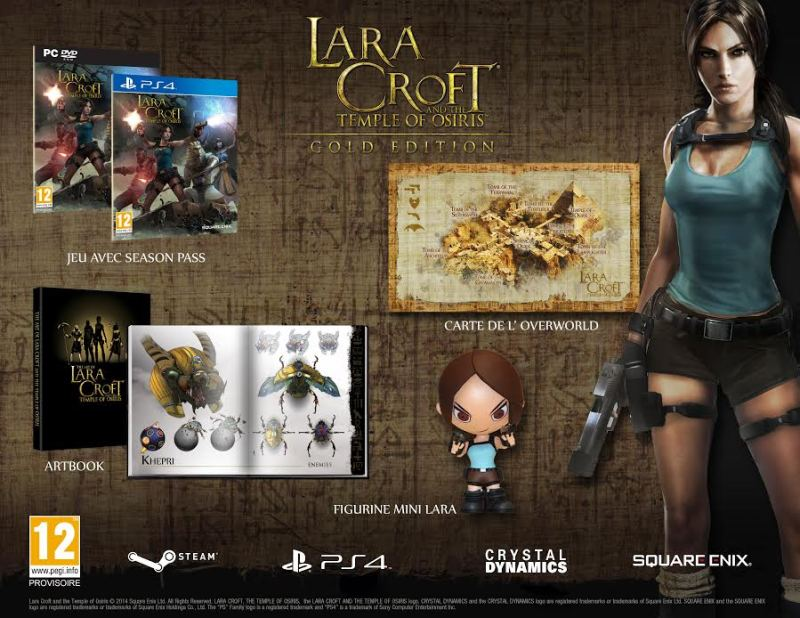 Actualité Lara Croft and the Temple of Osiris - gold edition - image