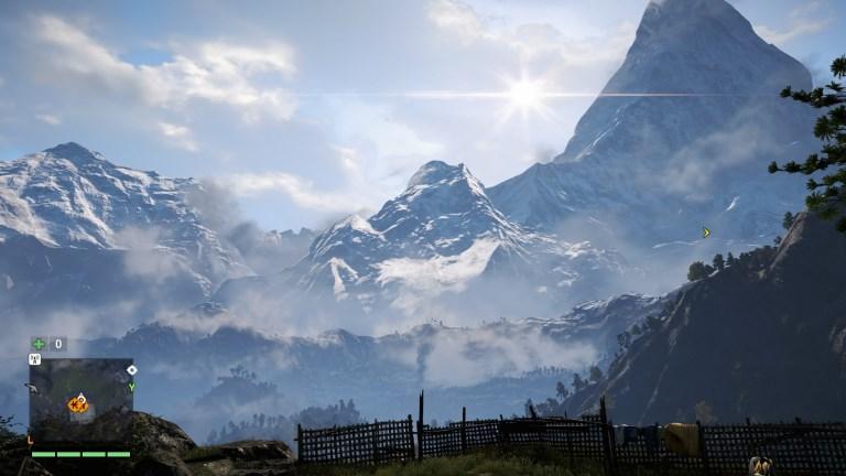 Les paysages sont splendides