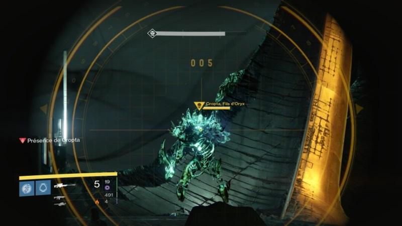 La chute de Cropta : Cropta, fils d'Oryx