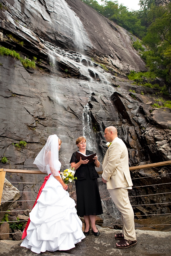 Chimney Rock Park Wedding Photographer Ashley Felkel