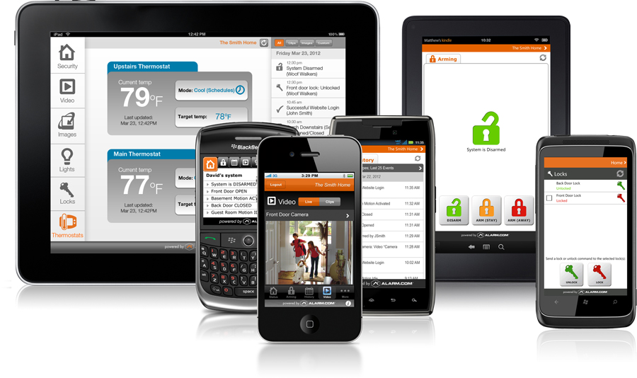 Image Result For Home Security Systems Smart Phone Access