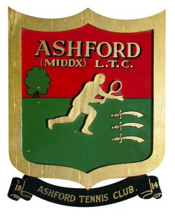 Ashford Tennis Club shield