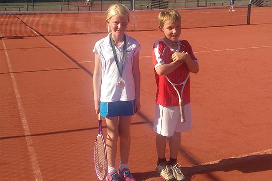 Junior tennis tournament Ashford Middlesex