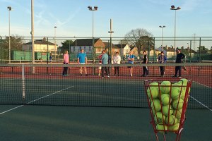 Adult Tennis Coaching Sessions
