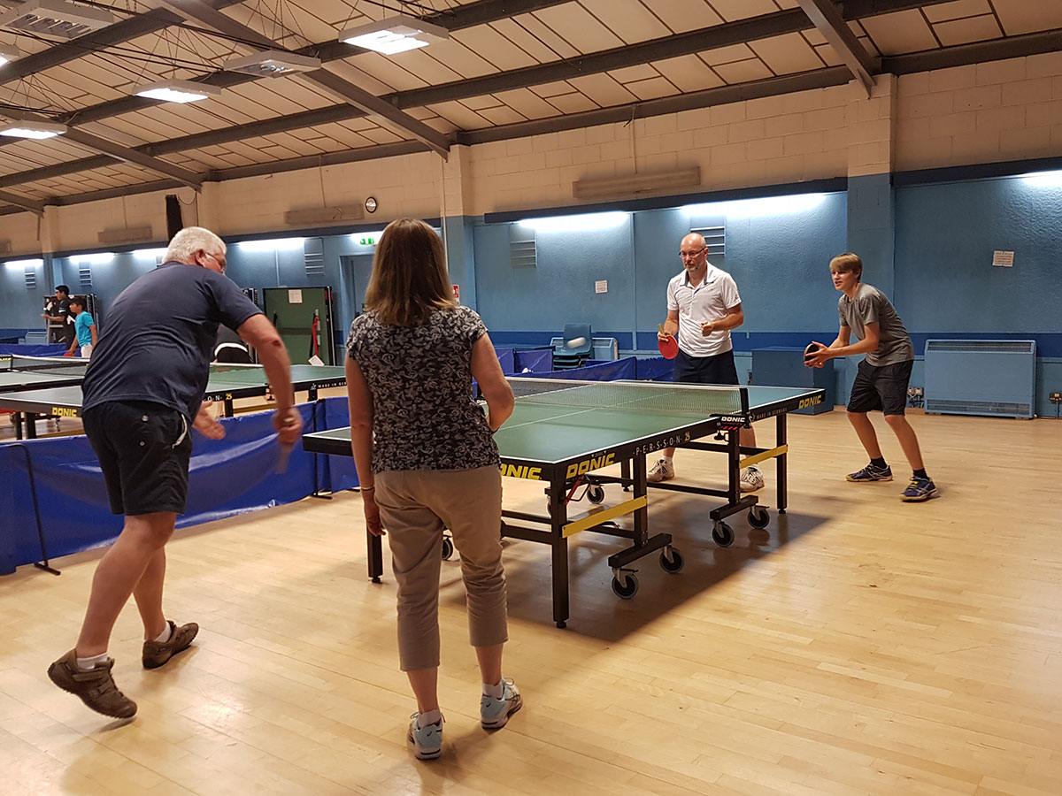 Games Night At The Tennis Club