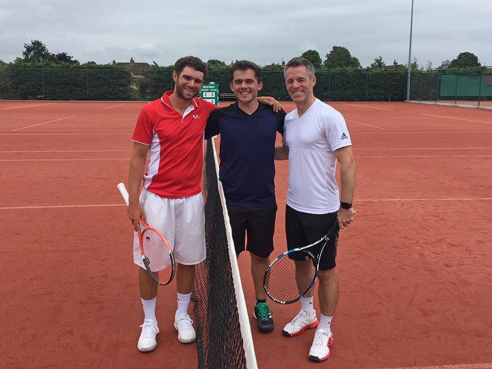 Roger Wins Men's Singles Final!