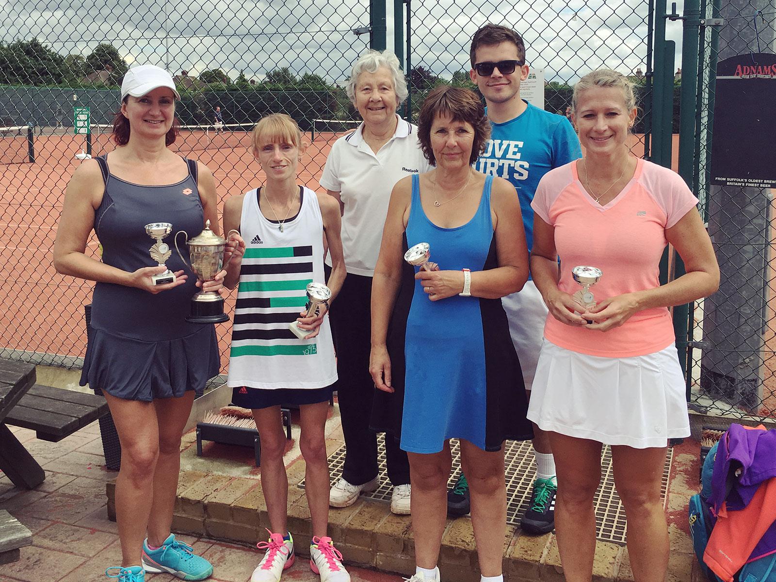 Ladies' Open Doubles Final 2017
