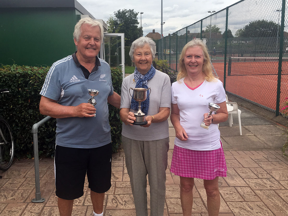 Vets Mixed Doubles Final 2017