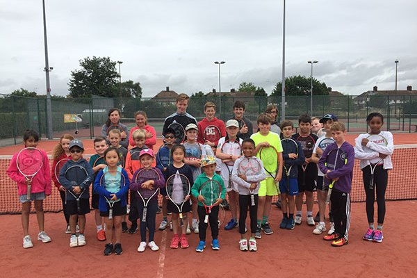 Junior Tennis Camps Surrey And Middlesex