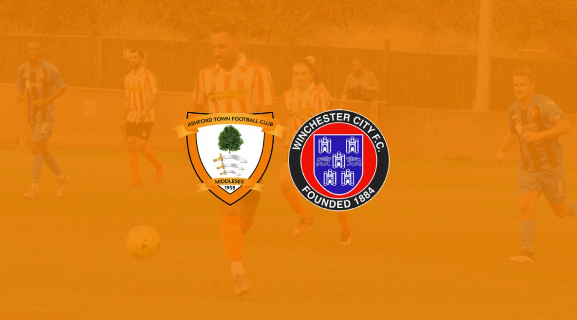 Ashford Town (Middlesex) FC vs Winchester City Preseason Friendly 2020