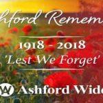 Ashford Remembered…