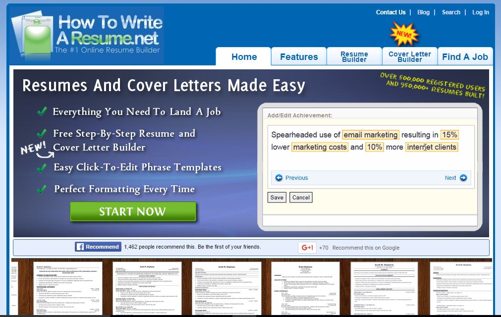 Resume Writing, Resume Examples, Cover Letters