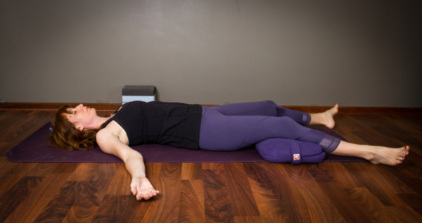 YIN YOGA PENTACLE SAVASANA POSE