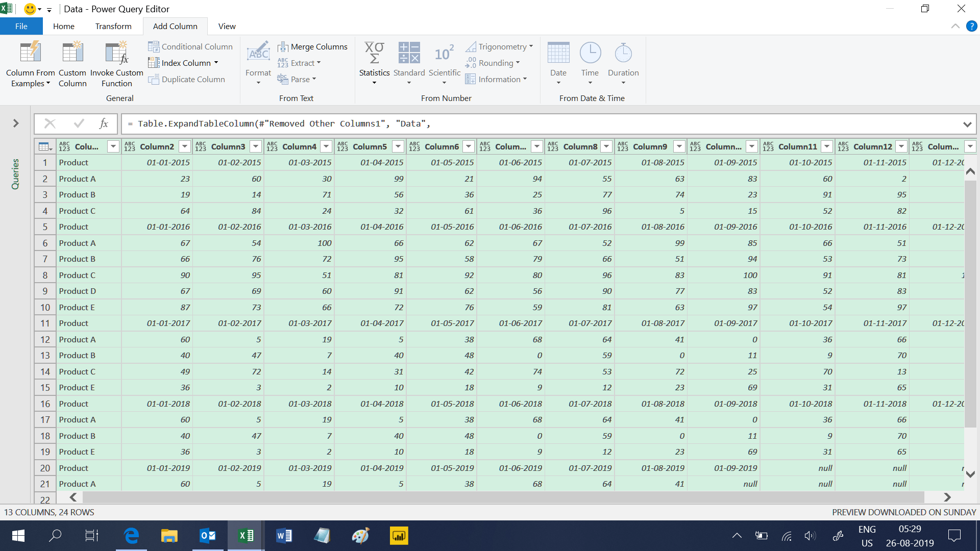 Append Data From Multiple Worksheets Of Multiple Workbooks