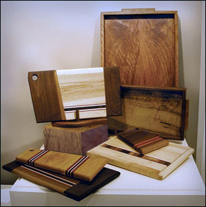 Fine cutting boards and woodwork by John Weston