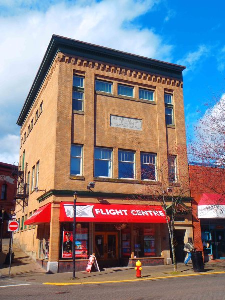 Ashlar Masonic Temple, 101 Commercial Street, Nanaimo