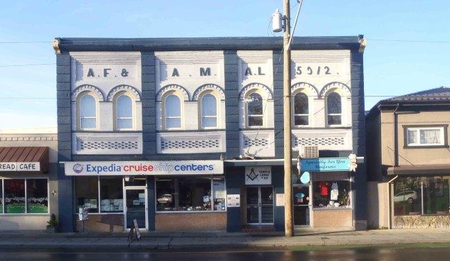Duncan Masonic Temple, 163 Canada Avenue, Duncan, B.C.
