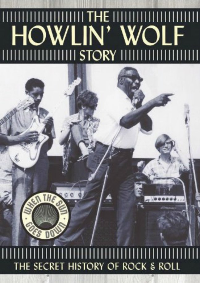DVD cover, The Howlin' Wolf Story