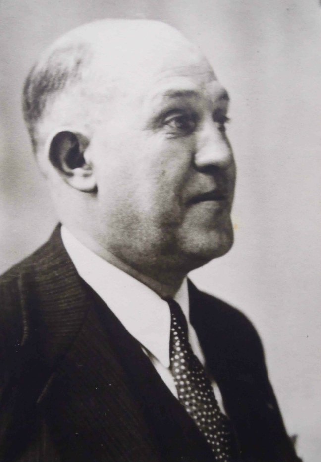 Nicholas Wright, Worshipful Master of Ashlar Lodge in 1923, the year the Ashlar Masonic Temple was built.