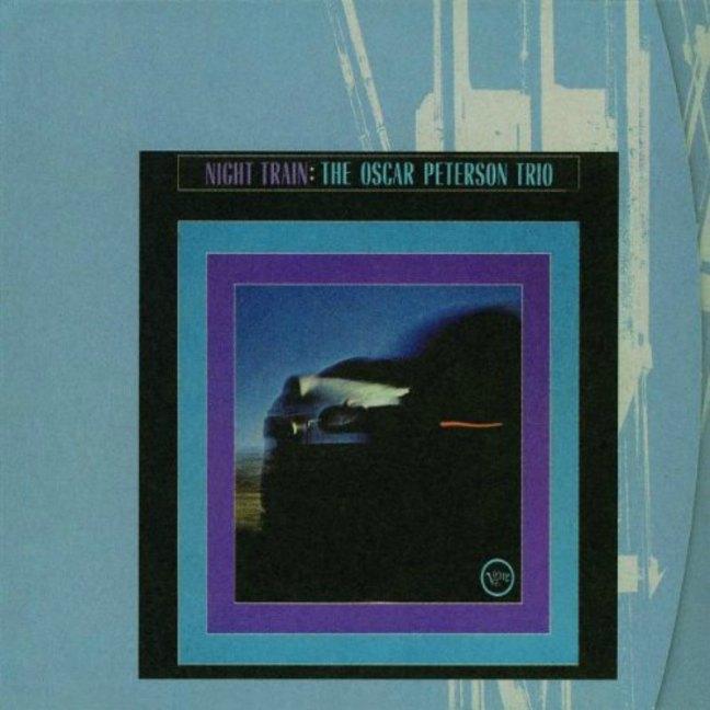 CD cover, Oscar Peterson Trio, Night Train - Verve Records