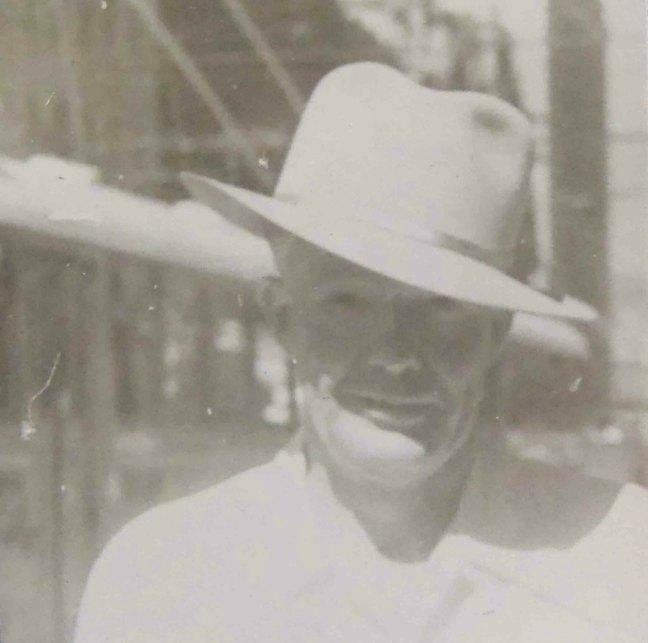 Douglas Gray, Worshipful Master of Ashlar Lodge, No.3 in 1949