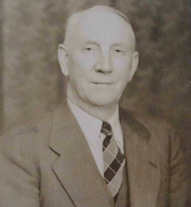 John Joseph Dickinson, Worshipful Master of Ashlar Lodge, No.3 in 1935