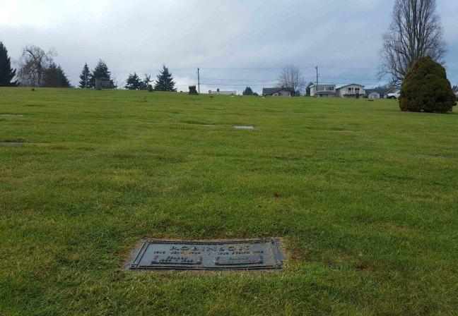 Fearon Robinson grave, Bowen Road Cemetery, Nanaimo, B.C.