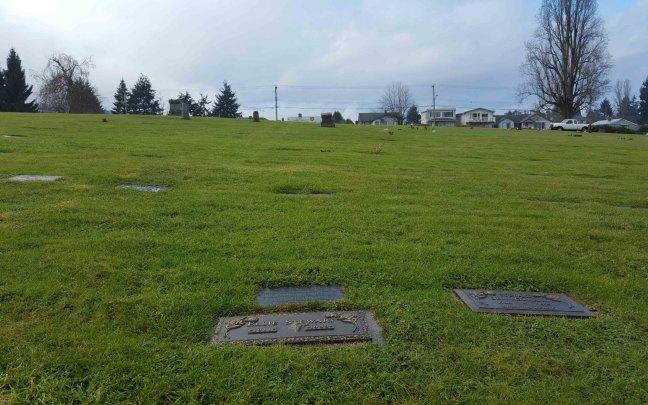 Robert J.M. Stewart grave, Bowen Road Cemetery, Nanaimo, B.C.