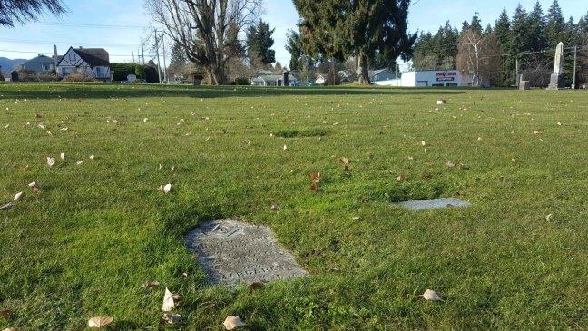 William Horne grave, Bowen Road Cemetery, Nanaimo, B.C.