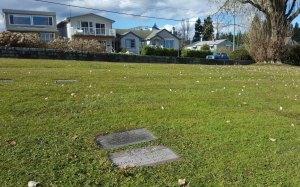 Allan James MacLean grave, Bowen Road Cemetery, Nanaimo, B.C,