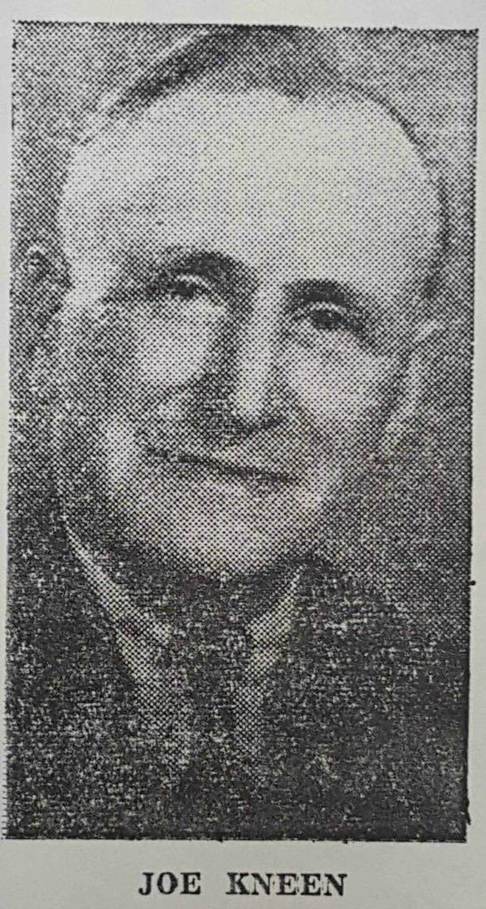 Joseph Kneen. This photo appeared in his newspaper obituary, 1967.