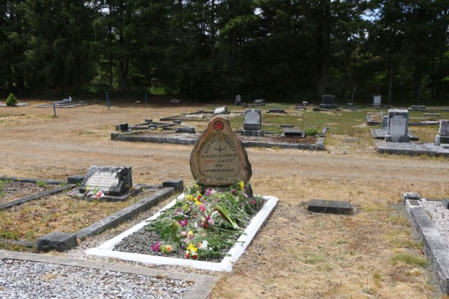 Ginger Goodwin grave, Cumberland Cemetery, Cumberland, B.C. (photo: Ashlar Lodge No. 3 Historian)
