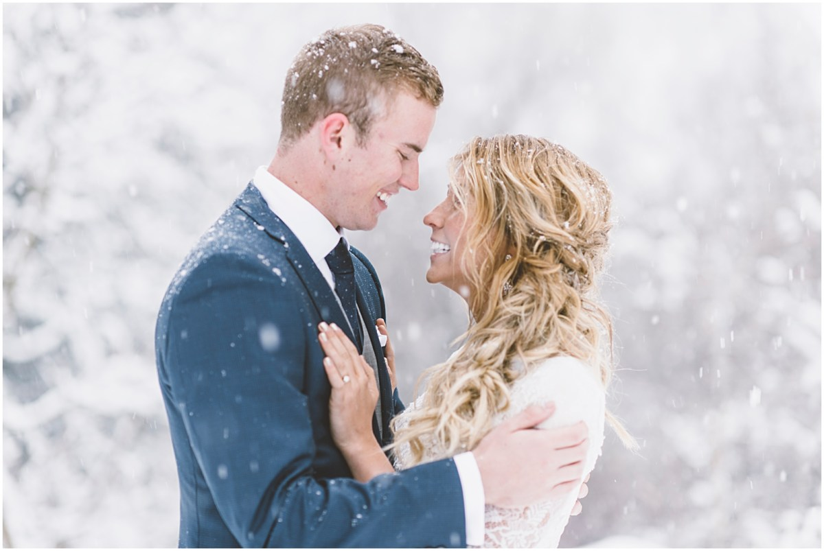 wedding, winter wedding, utah wedding, lace dress, lace wedding dress, snowy wedding shoot, bridals, winter bridals, bhld dress, bhld lace wedding dress,