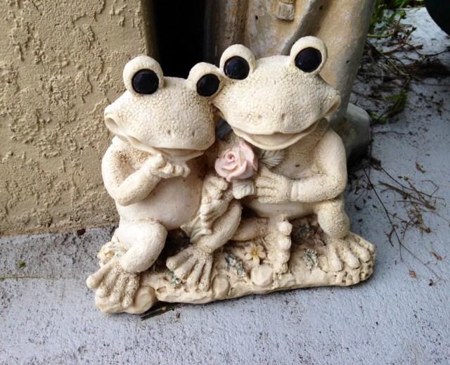Frog Sculptures