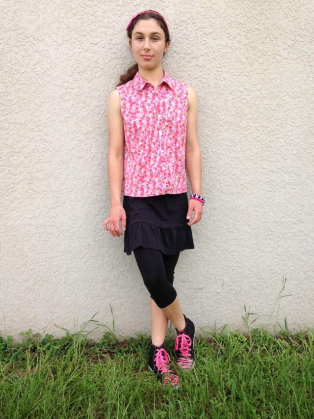 Pink Giraffe #2 - Outfit Photo