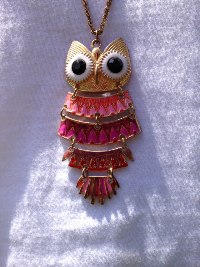 Owl Necklace by Ashlee Craft