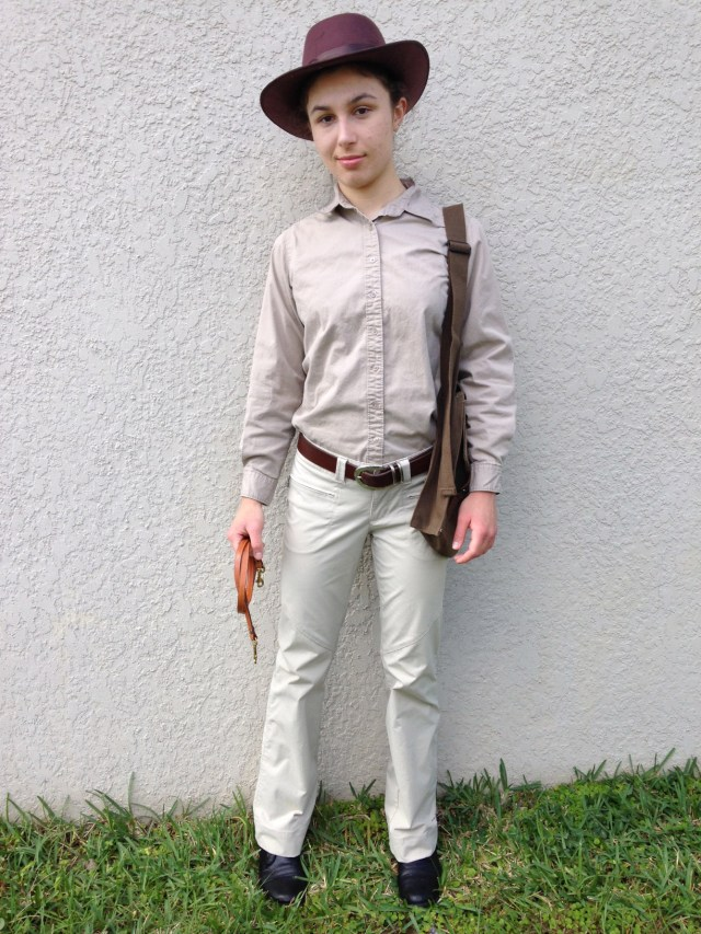 Indiana Jones Halloween Costume by Ashlee Craft