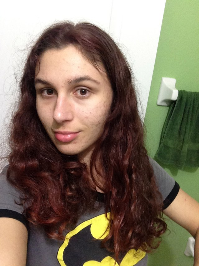 Batman Shirt & Red Hair