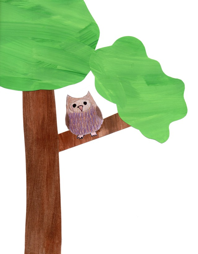 Page 1 - We Love You, Little Owl by Ashlee Craft