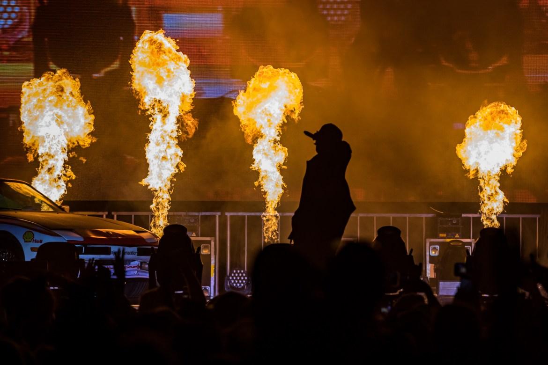 A$AP Rocky Performing at BUKU 2019